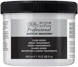 Winsor & Newton Artist Acrylic  Clear Gesso 450 ml