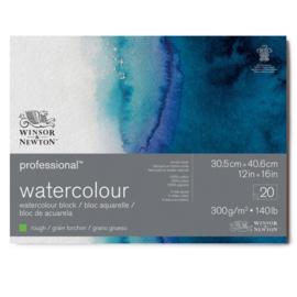 Winsor & Newton Pro- Aquarelpapier 30.5 x 40.6 cm Rough  (grof)