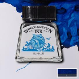 Winsor en Newton  Drawing Inkt Bleu