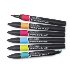 BrushMarker set 6 Mid tones