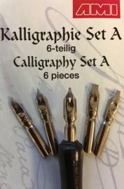 Kalligrafie set A