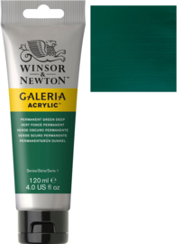 no.482- Galeria Acrylic Perm. green deep 120 ml tube