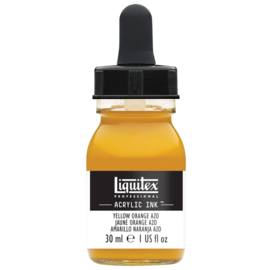 Liquitex Acrylic ink YELLOW ORANGE AZO