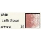 Pastelkrijt los nr. 55- Earth Brown
