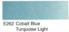 E262- Cobalt bleu turquoise light