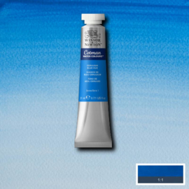 Cotman Cerulean bleu heu tube 21 ml