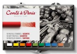 Conté à Paris softpastel set 10 stuks