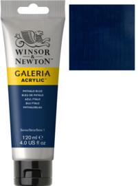 no.516- Galeria Acrylic Phthalo bleu 120 ml tube