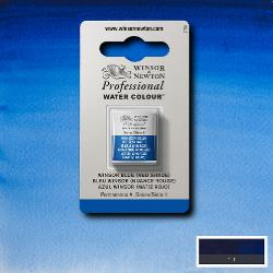 W&N Pro Water Colour ½ nap Winsor Bleu ( red shade ) S.1
