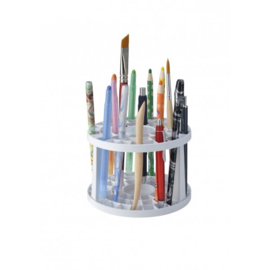 Kunststof penseel/stift/potloden houder LEEG