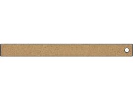liniaal Westcott 30cm RVS met anti slip