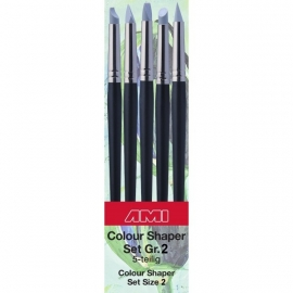 Set  5 stuks Colour shaper nummer 2 Soft