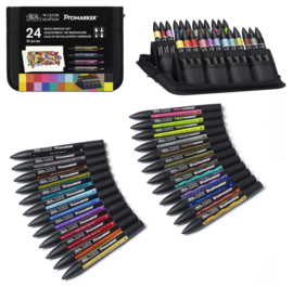 Mixed Marker set in Etui