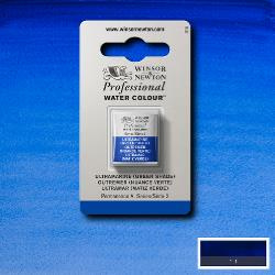 W&N Pro Water Colour ½ nap Ultramarine (green shade ) S.2
