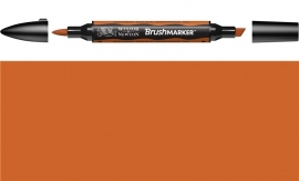 W&N Brushmarker 0345-Saddle brown