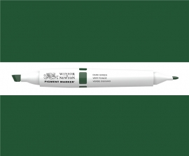 W&N Pigment marker Dark green 083