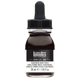 Liquitex Acrylic ink TRANSPARENT BURNT UMBER