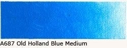 A-687 O. H. Blue Medium Acrylverf 60 ml