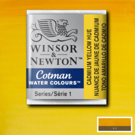 Cotman Cadmium yellow  Heu 1/2 napje
