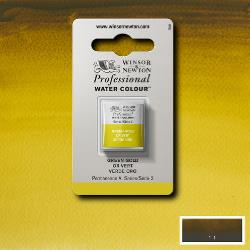W&N Pro Water Colour ½ nap Green Gold S.2