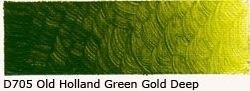 D-705 O.H. Green-Gold Deep Acrylverf 60 ml