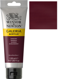 no.075 - Galeria Acrylic Burgundy 120 ml tube