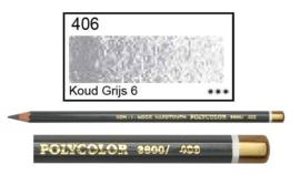 KIN-Polycolor nr.406 koud grijs 6