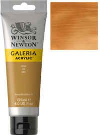 no.283- Galeria Acrylic Gold 120 ml tube