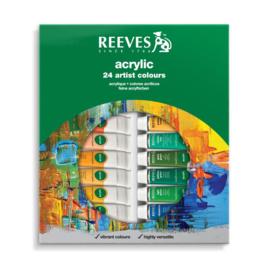 Reeves Acrylverf set 24 tubes
