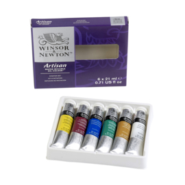 Winsor & Newton  water mixable olieverf starters set 6x21ml