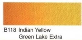 B118-Indian yellow green lake ex.