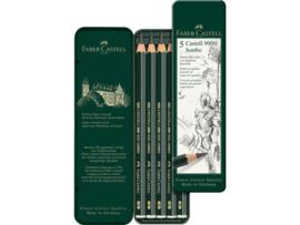 Faber Castell 9000 JUMBO 5 stuks in blikje