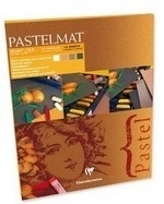 Clairefontaine Pastelmat 18x24 4 tinten donker