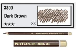KIN-Polycolor nr.33   Dark Brown
