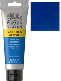 no.535 - Galeria Acrylic Process (Primair)cyan 120 ml tube
