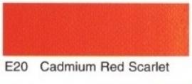 E20- Cadmium red scarlet