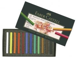 Faber Castell  pastelkrijt  Polychromos  12 stuks