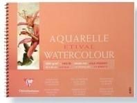Clairefontaine Etival 300 grams Aquarelblok (spiraal) 18x24cm 12 vel
