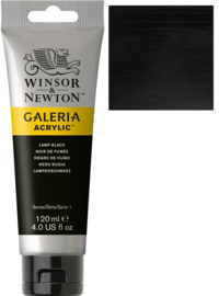 no.337- Galeria Acrylic Lamp black 120 ml tube