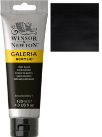 no.331- Galeria Acrylic Ivory back  120 ml tube