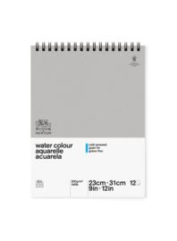 Winsor & Newton watercolour blok 23x31 cm ringband