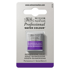 W&N Pro Water Colour ½ nap Quinacridone Violet S.3