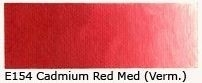 E-154 Cadmium red medium (vermilioned) 40 ml