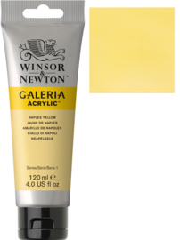 no.422- Galeria Acrylic Napes yellow  120 ml tube