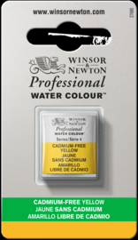 W&N Pro Water Colour ½ nap Cadmium FREE Yellow   S.4