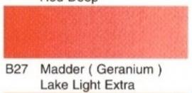 B27-Madder geranium lake lt. ex.