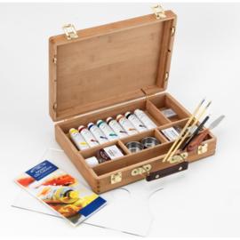 Winsor & Newton Professional Olieverf Bamboo box set