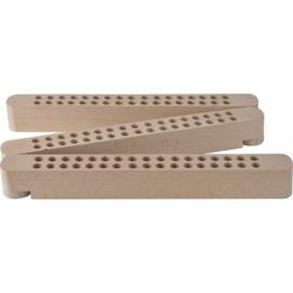 Stift- en penselenhouder, hout