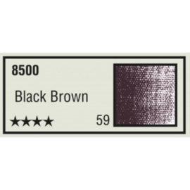 Pastelkrijt los nr. 59- Black Brown
