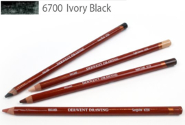 Derwent Drawing Pencil  Ivory Black